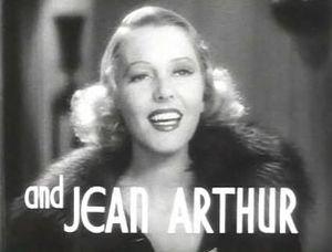 The Ex-Mrs. Bradford - Image: Jean Arthur in The Ex Mrs. Bradford