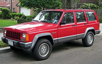 Compact sport utility vehicle - Jeep Cherokee (XJ), the first purpose-designed unibody compact SUV