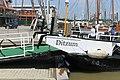 Jemgum Ditzum - Am Hafen - Hafen - Fähranleger + Ditzum 03 ies.jpg
