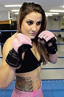 Jennifer Maia Brazilian martial artist