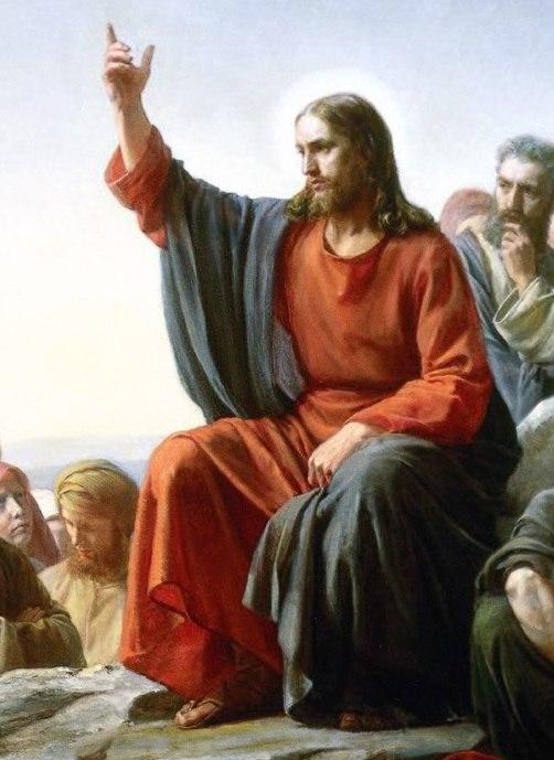 Jesus-SermonOnTheMount (cropped)