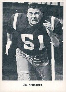 Jim Schrader American football player
