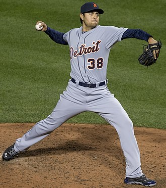 Joakim Soria - Soria pitching for the Detroit Tigers