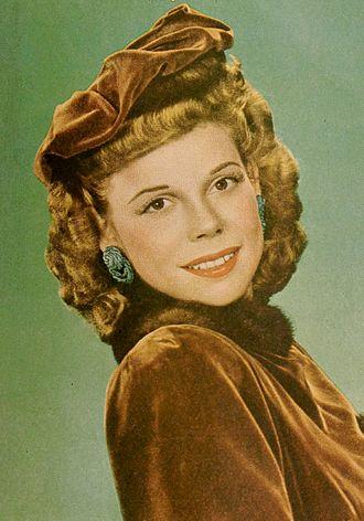 Joan Edwards (radio singer) - Image: Joan Edwards 1945