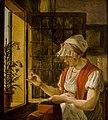 Johannes Jelgerhuis - Vrouw met naaiwerk - BR2852 - Rijksmuseum Twenthe.jpg