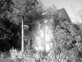 Newmarket, Ontario - The John Bogart House on Leslie Street is the oldest residential structure in Newmarket, and the oldest two storey residential building north of Toronto. It was built in 1811 and still serves as a house today.