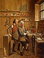 John Cuff and his assistant, ca. 1772, Royal Collection by Johan Zoffany.jpg