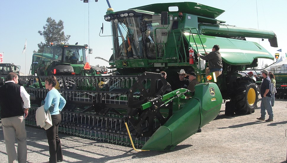 John Deere 9870 STS with 625D