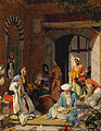 "John Frederick Lewis - ""And the Prayer of Faith Shall Save the Sick"" - Google Art Project.jpg"