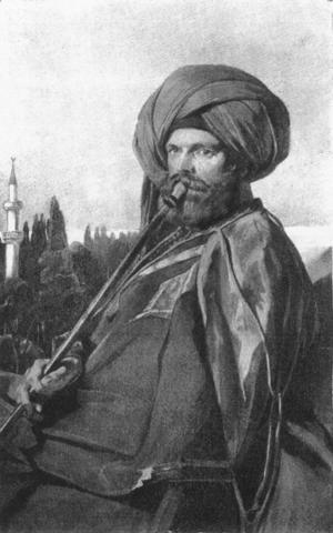 John Lowell Jr. (philanthropist) - Portrait of John Lowell Jr., made during his travels in Egypt