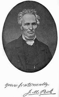 John Mason Peck American missionary and musician