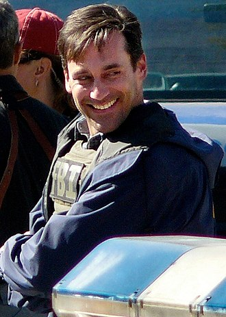 Jon Hamm - Hamm on the set of The Town in September 2009