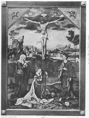 Crucifixion with Virgin, Mary Magdalene and Saint John