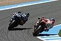 Jorge Lorenzo and Dani Pedrosa 2014 Jerez 2.jpeg