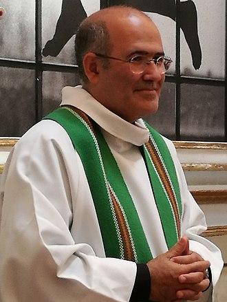 José Tolentino Mendonça - Father José Tolentino Mendonça at Capela do Rato on the 22nd of July 2018