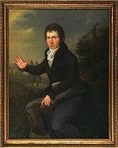 Beethoven, 1804/1805. Dieses Porträt von Joseph Willibrord Mähler war bis zu seinem Tod in Beethovens Besitz. Befindet sich in der Sammlung des Wien Museums[34] (Quelle: Wikimedia)