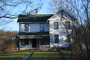 Joseph F. and Anna B. Schrot Farm - Front, seen from the road