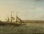 Joseph Walter - A Ship Passing Portishead.jpg