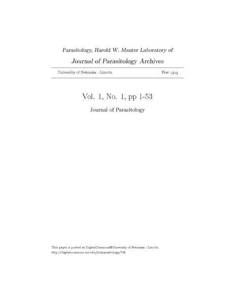 File:Journal of Parasitology, Vol.1, No.1, pp 1-53.pdf