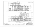 Judge Charles Mason House, 931 North Sixth Street, Burlington, Des Moines County, IA HABS IOWA,29-BURL,1- (sheet 3 of 7).png