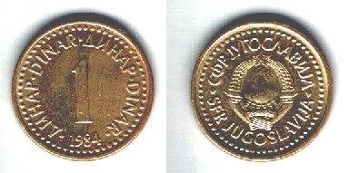 Jugoslavia 1 dinaro
