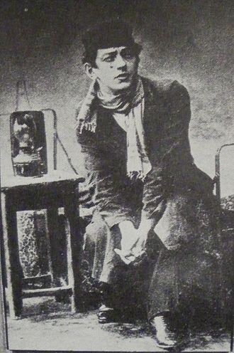 Julius Adler (actor) - Julius Adler in Nokhum Rakov's Talmud Khokhem