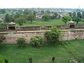 July 9 2005 - The Lahore Fort-The wall from the inside.jpg