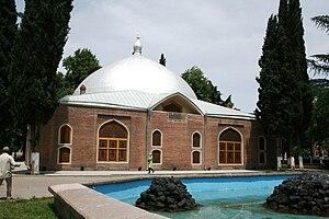 Islam in Azerbaijan - The Shah Abbas Mosque in Ganja, Azerbaijan.