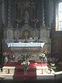 Jumet - Chapelle Notre-Dame des Affligés - autel.jpg