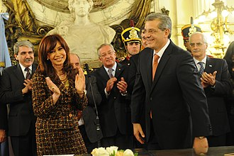 Julián Domínguez - Domínguez following his swearing-in as Minister of Agriculture in 2009.