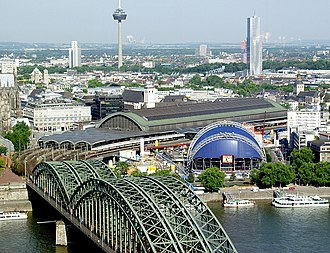 Köln–Frankfurt high-speed rail line - Köln Hauptbahnhof