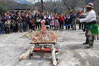 Gongshan Derung and Nu Autonomous County - Image: K.peach flower festival
