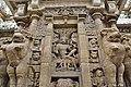 Kailasanatha Temple, dedicated to Shiva, Pallavve period, early 7th century, Kanchipuram (23) (37200352990).jpg