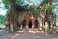 Kajlagarh Gopal Navaratna temple of Chowdhury family at Bhagabanpur under Purba Medinipur district in West Bengal 01.jpg