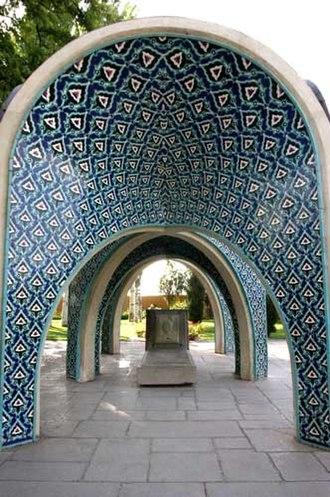 Kamal-ol-molk - Tomb of Kamal-ol-Molk, Nishapur.