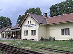 Train station, Kamenice nad Lipou, Pelhřimov District, Czech Republic