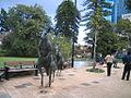 Kangaroo statues in Perth, WA.jpg