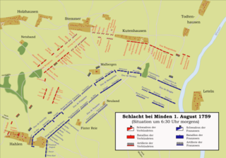 Battle of Minden battle