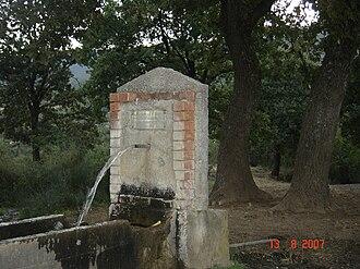 Katalonia - A fountain in Katalonia