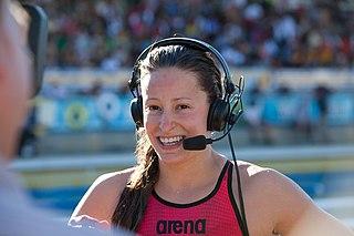 Katerine Savard Canadian swimmer