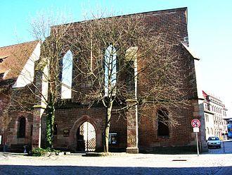 Katharinenkirche, Nuremberg - Ruins of the former church of St. Catherine's