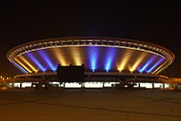 Katowice Spodek- nowa iluminacja.jpg