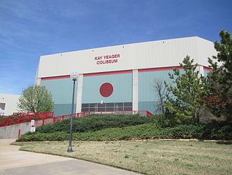 Wichita Falls, Texas - Kay Yeager Coliseum