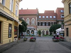 Keszthely - Image: Keszthely town centre 3