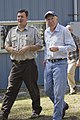 Kevin Godsea and Sec Salazar at Florida Panther NWR (5486556306).jpg