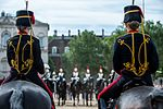King's Troop hand over to the Household Cavalry MOD 45160329.jpg