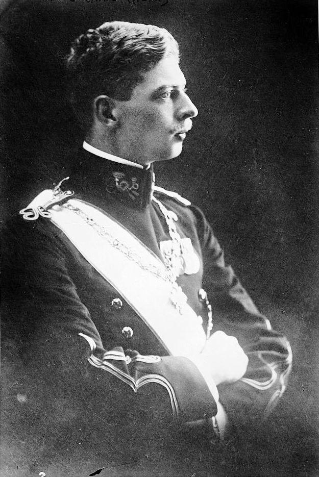 King Carol II of Romania young