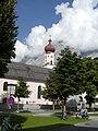 Kirche Ehrwald vor der Zugspitze - 27.08.08 - panoramio.jpg