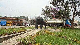 Kisoro - Image: Kisoro town