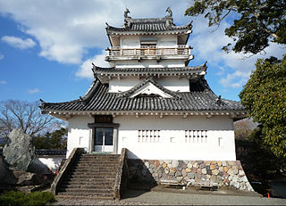 Japanese historical estate in Bungo province